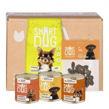 Smart Dog / Смарт Дог Smart Box Рацион из птицы для умных собак, 1.5 кг