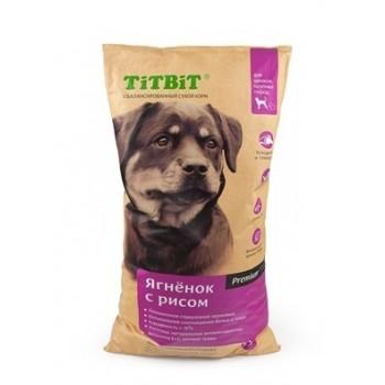 TitBit / ТитБит Корм сухой для щенков крупных пород ягненок с рисом 0,4 кг