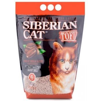 Сибирская Кошка Наполнитель Тофу Кофе 6 л