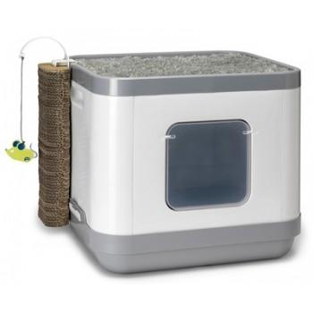 Moderna / Модерна Cat Concept 4 в 1 (туалет, лежанка, дразнилка, когтеточка)