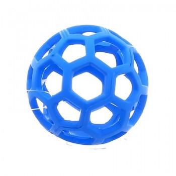 Ажурный резиновый мяч малый, 9 см