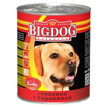 Зоогурман BIG DOG кон.д/собак Говядина с бараниной 850 гр