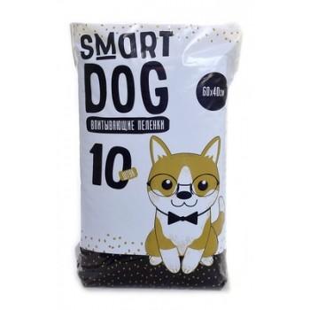 Smart Dog / Смарт Дог Впитывающие пеленки для собак 60*40, 10 шт