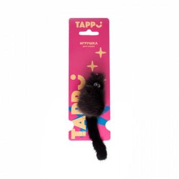 """Tappi / Таппи Игрушка """"Саваж"""" для кошек мышь из натурального меха норки оп."""