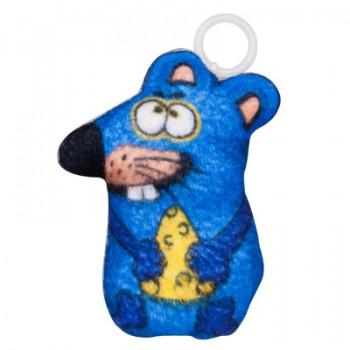 """Антицарапки Вибрирующая игрушка для кошки """"Мышка""""с валерианой 10 см"""