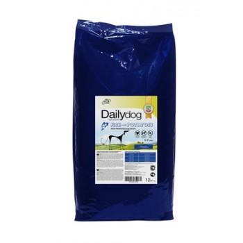 DailyDog / ДейлиДог Для взрослых собак средних и крупных пород с рыбой и картофелем, 12 кг