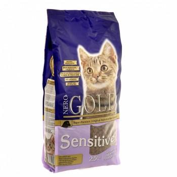 Nero Gold / Неро Голд для Кошек с чувствительным пищеварением: Ягненок (Cat Adult Sensitive), 800 гр