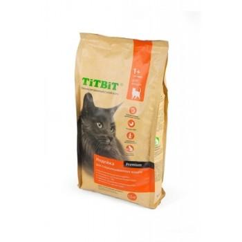 TitBit / ТитБит Корм сухой для стерилизованных кошек с мясом Индейки 0,4 кг