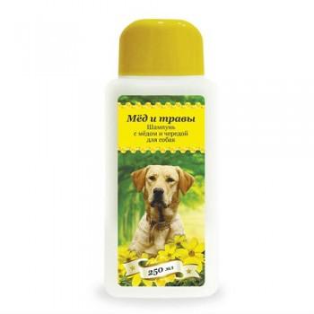 Пчелодар Шампунь с мёдом и чередой для собак 250 мл