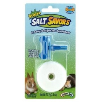 Super Pet Соль д/грызунов натурал., диам. 3,8х1,9 см, 1 шт с держателем 61154