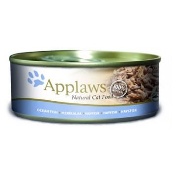 Applaws / Эпплаус Консервы для кошек с Океанической рыбой 0,156 кг