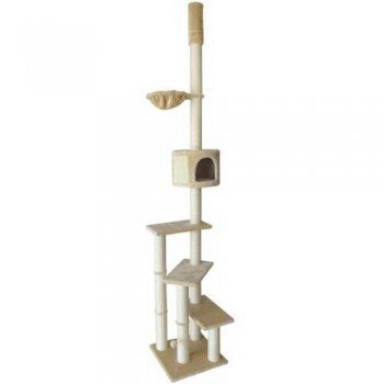 FAUNA INT / Фауна Интернешнл Комплекс для кошек Rocio с упором в потолок, 45*45*240-260 см