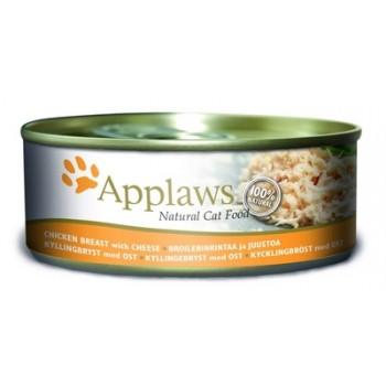 Applaws / Эпплаус Консервы для кошек с Куриной грудкой и сыром 0,156 кг