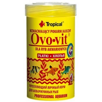 Tropical / Тропикал 770337/85887 корм для аквариумных рыб укрепляющий яичный (хлопья) Ovo-vit 100 мл/20гр