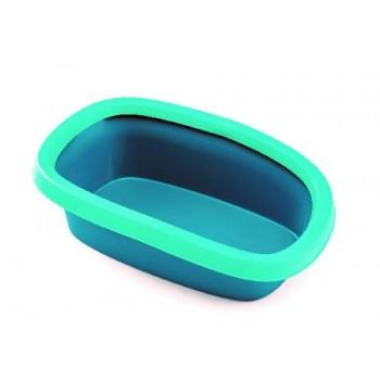 Stefanplast / Стефанпласт Туалет Sprint-20 Trendy Colour, бирюзово-голубой, 39*58*17 см