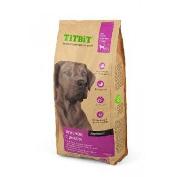 TitBit / ТитБит Корм сухой для собак крупных пород ягненок с рисом 3 кг