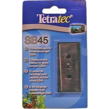 Tetra / Тетра SB 45 запасные лезвия для скребка 2 шт.