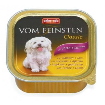 Animonda Vom Feinsten Classic конс. 150 гр. индейка / ягненок для собак (ламистер) 82965 (82611)