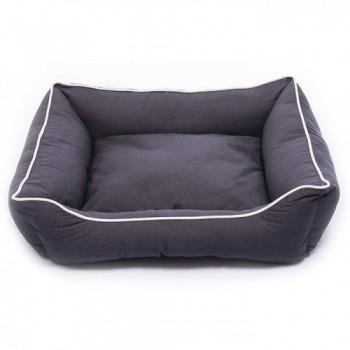 Dog Gone Smart / Дог Гон Смарт Нано лежанка Lounger Bed XS, 48,3*38см, темно-серый