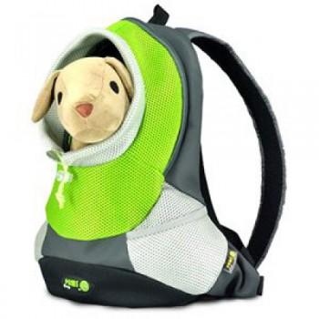 Crazy Paws Sport De Lux Переноска-рюкзак L, 41,5х17,5х43см, до 5кг, зелен, DPETC022-GN (7065)