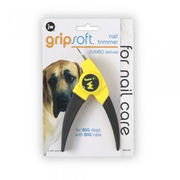 JW Когтерез-гильотина для крупных собак, Grip Soft Jumbo Deluxe Nail Trimmer (65045)