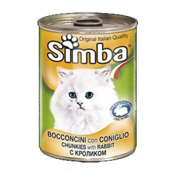Simba / Симба Cat консервы для кошек паштет кролик 400 г