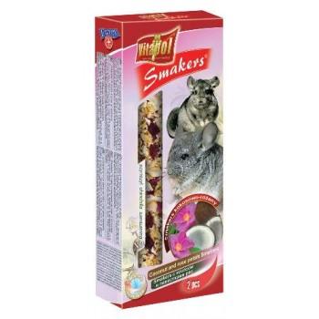 Vitapol / Витапол Smakers с кокосом и лепестками роз для шиншилл
