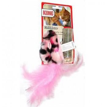 """Kong / Конг игрушка для кошек """"Мышь полевка"""" плюш с тубом кошачьей мяты"""