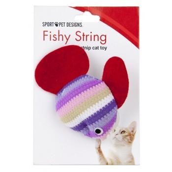 "Kitty City Игрушка для кошек ""Рыбка"" (Fishy string)"
