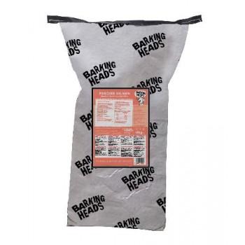 """Barking Heads / Баркинг Хедс Беззерновой корм для Собак с Лососем и картофелем """"Мисочку оближешь"""", 18 кг"""