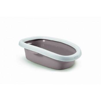 Stefanplast / Стефанпласт Туалет Sprint-10 с рамкой, пудровый, 31*43*14 см
