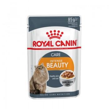 Royal Canin / Роял Канин Intense beauty Souse для поддержания красоты шерсти кошек соус 85 г