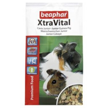 Beaphar / Беафар Корм «Xtra Vital Junior Guinea pig» д/молодых морских свинок, 500г
