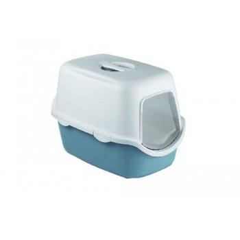 Stefanplast / Стефанпласт Туалет закрытый Cathy, синий с угольным фильтром, 56*40*40см