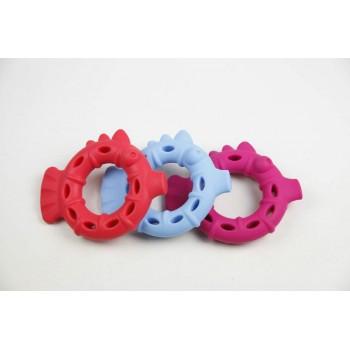 """SuperDesign игрушка для собак """"Рыбка-колечко"""" резиновая 13 см"""