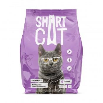 Smart Cat / Смарт Кэт сухой корм для взрослых кошек с кроликом , 5 кг