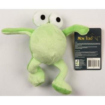 "Mon Tero / Мон Теро игрушка для собак ""Лягушка"", 9 см, зеленая"