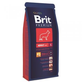 Brit / Брит Premium Adult L для взрослых собак крупных пород, 18 кг