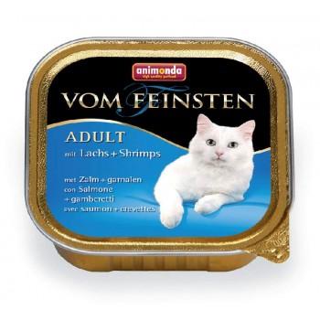 Animonda Vom Feinsten Mare конс. 100 гр. Лосось / креветки для кошек (ламистер) 83444 (83202)