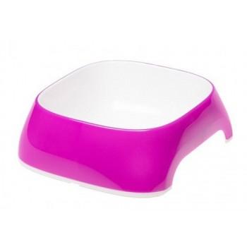 FERPLAST / ФЕРПЛАСТ Миска Glam MEDIUM пластиковая, фиолетовая, 0,75 литра 71214019
