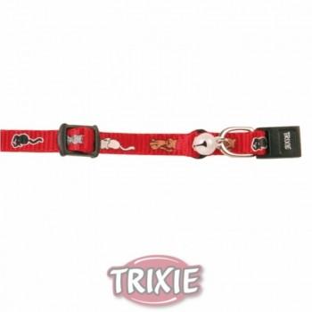 Trixie / Трикси Ошейник д/КОТЯТ с рисунком нейлон 4178
