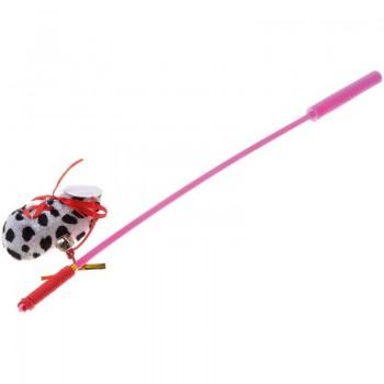 V.I.Pet Игрушка для кошки Дразнилка удочка с игрушкой `Ботинок` /12/ ST-106