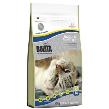 Bozita / Бозита Funktion Indoor&Sterilised сух.корм д/Домашних и кастрированных кошек 10кг