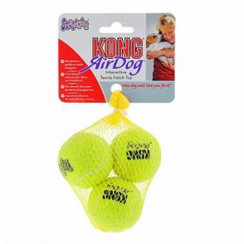 """Kong / Конг игрушка для собак Air """"Теннисный мяч"""" маленький (в упаковке 3 шт.)"""
