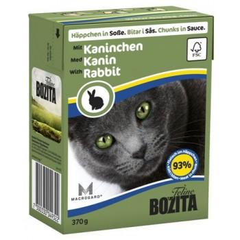 Bozita / Бозита кон.д/кошек Кусочки в соусе Кролик 370гр