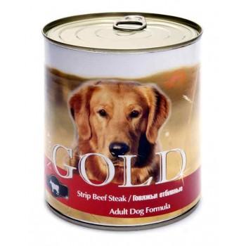 """Nero Gold / Неро Голд для собак """"Говяжьи отбивные"""" 0,81 кг"""