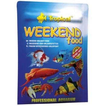 "Tropical / Тропикал 207116/85913 корм для аквариуных рыб ""на выходные или отпуск"" Weekend Food 20гр (таб)"