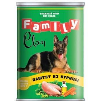 Clan / Клан Family консервы д/собак паштет из курицы, 0,97 кг