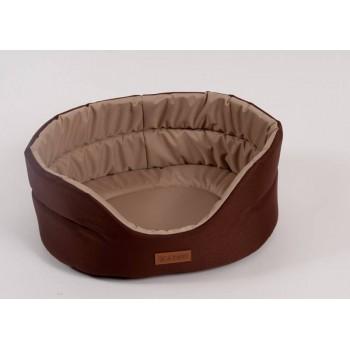 Katsu / Катсу CLASSIC SHINE 70х62х25 см лежак для животных коричнево-бежевый