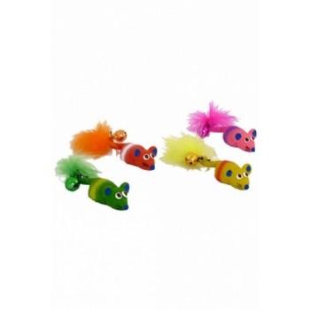 "Papillon / Папиллон Игрушка ""Мышка с бубенцом"", латекс, 11см"